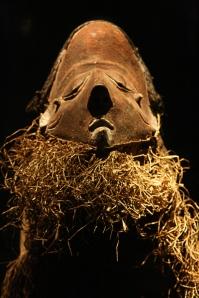 fotografiert im Museum in Berlin Dahlem( Abteilung Afrika)