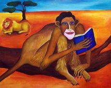 Ein gebildeter Affe