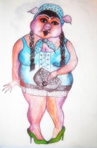 Fräulen Schwein